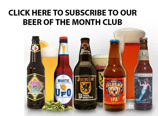 Subscribe to our beer of the month club