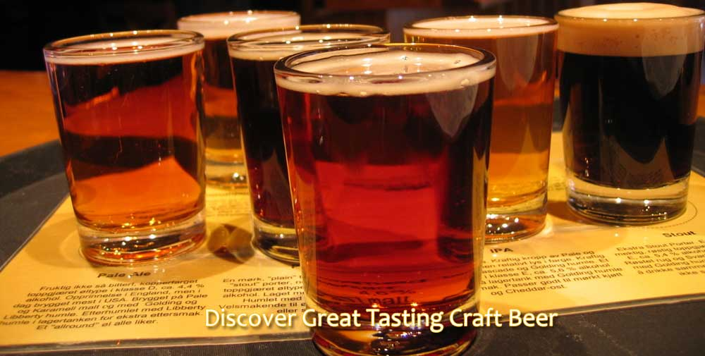 Discover Great Tasting Craft Beer